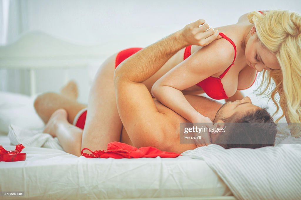 passionate couple : Stock Photo