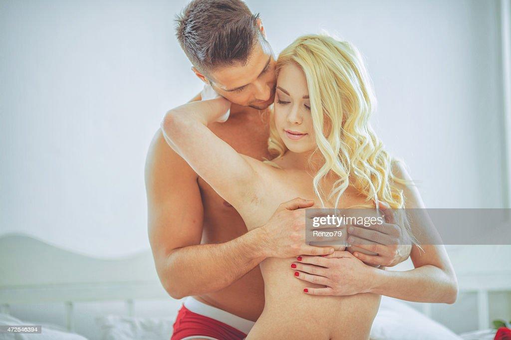 passionate couple : Stock Photo