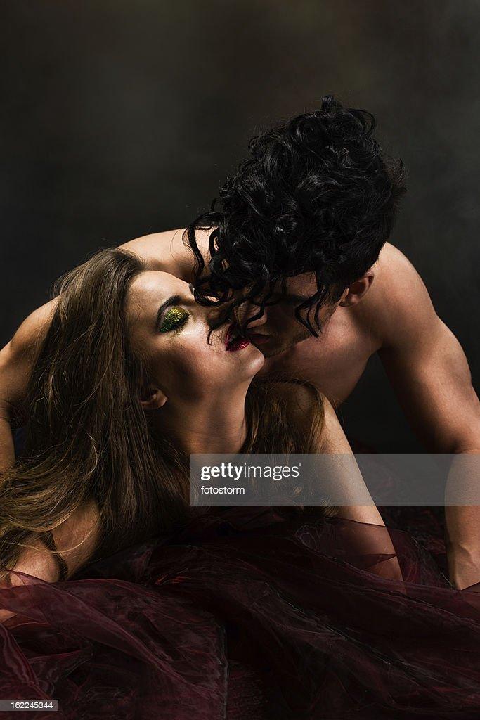 Leidenschaftliche Liebenden : Stock-Foto