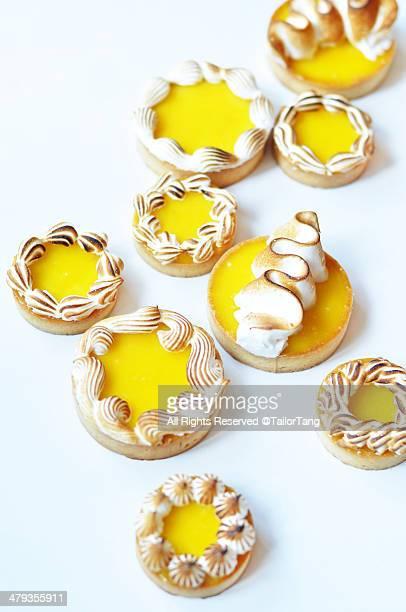 Passionfruit and Lemon Meringue Tartelettes