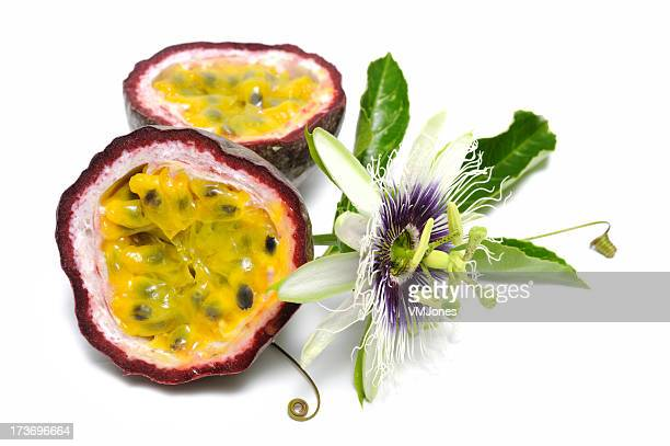Passionfruit with vine
