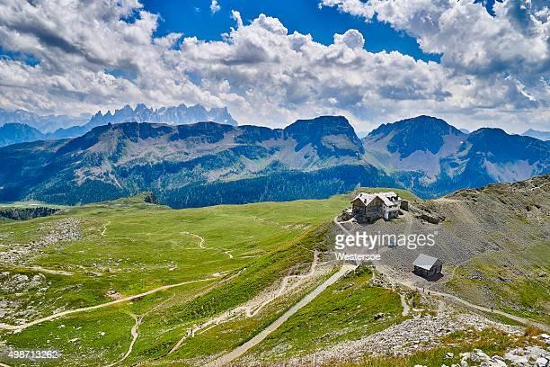 Passo San Pellegrino - last refugio on the route