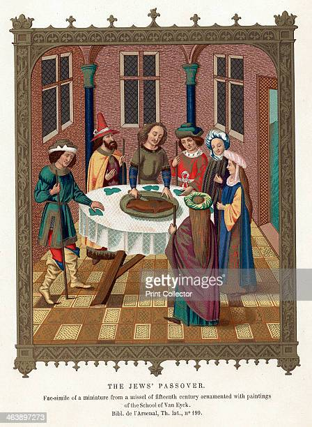 Passover After a miniature from a 15th century missal