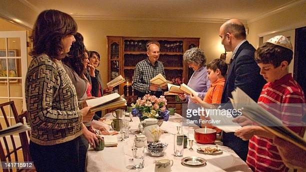 passover dinner - happy passover stock pictures, royalty-free photos & images