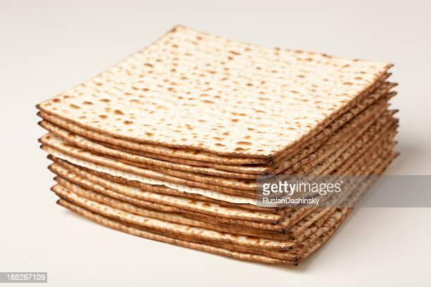Passover matzos.