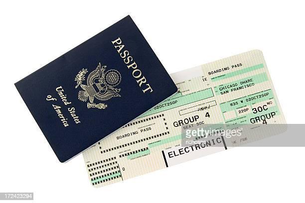 Passaporte e embarque passam