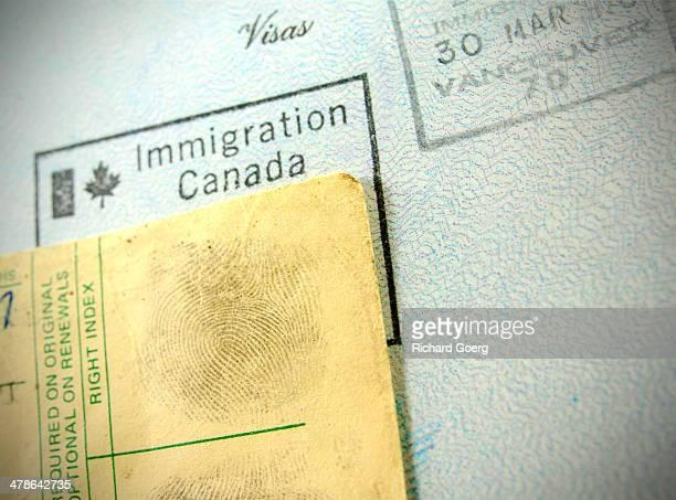 Passport and fingerprints