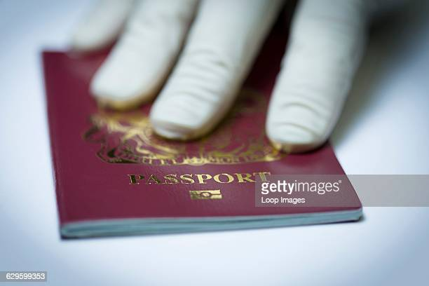 UK passport check Monmouth Wales