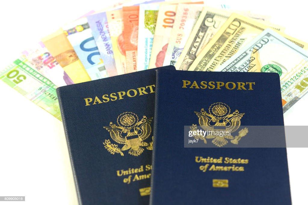 US Passport : Stock Photo