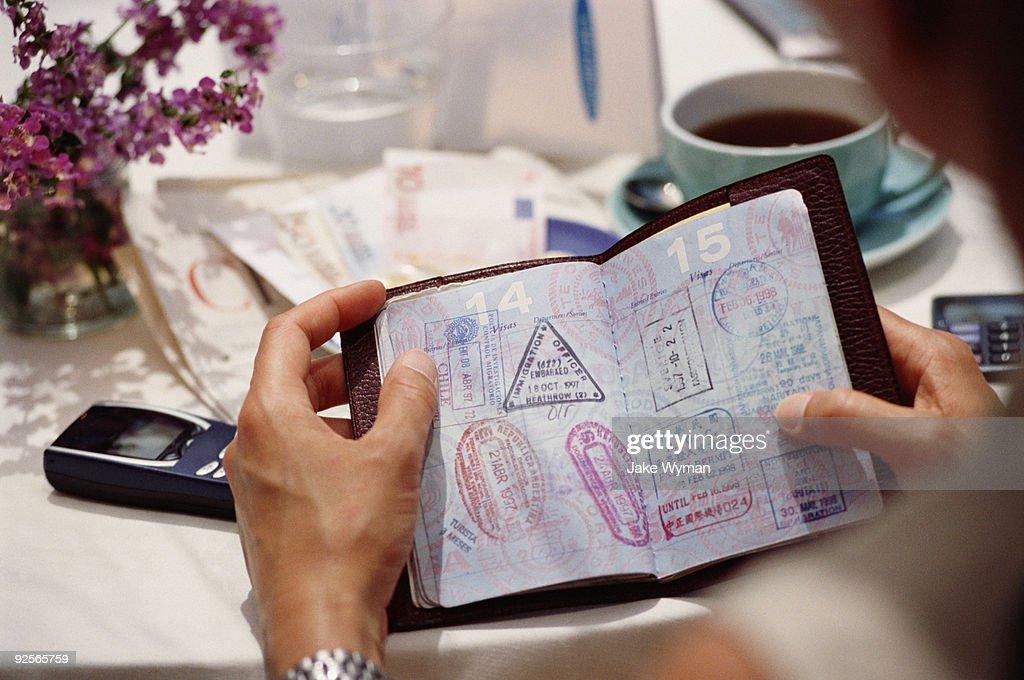 Passport : Stock Photo