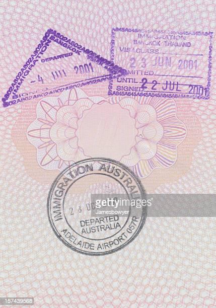 Francobolli di passaporto
