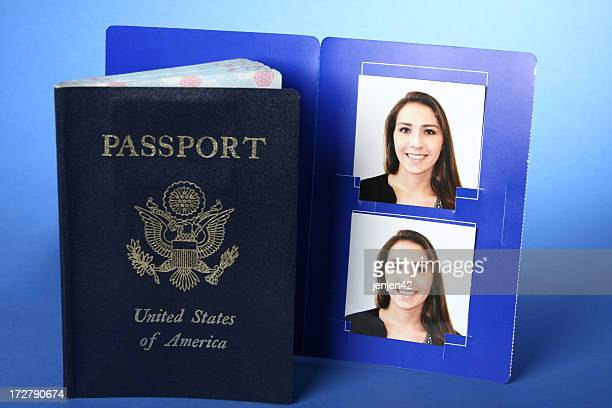 Passport with Photos