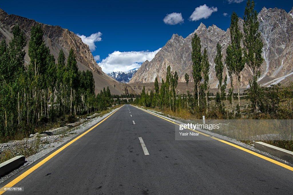 Passu, Hunza, Gilgit Baltistan : Stock Photo