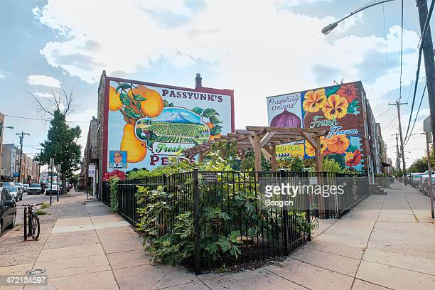 Passyunk East Philadelphia Mural and Garden