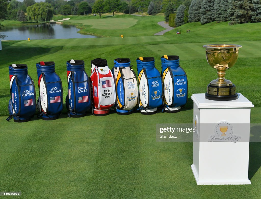 Presidents Cup  Course Previews : News Photo
