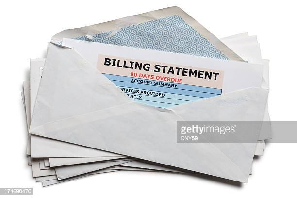past due bills - financial bill stock pictures, royalty-free photos & images