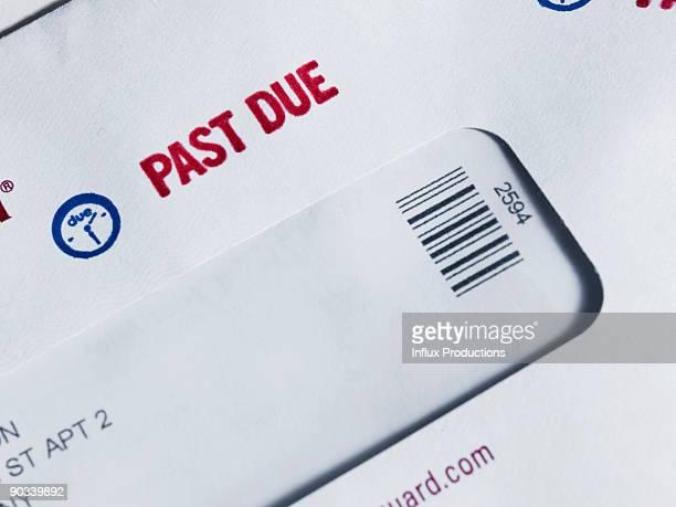 Past Due Notice on Envelope