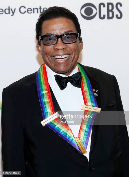 Past honoree Herbie Hancock attends the 42nd Annual Kennedy Center Honors Kennedy Center on December 08 2019 in Washington DC