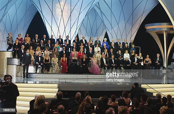 Past Oscar winners Julie Andrews Kathy Bates Halle Berry Ernest Borgnine Red Buttons Nicolas Cage Michael Caine George Chakiris Jennifer Connelly Sir...