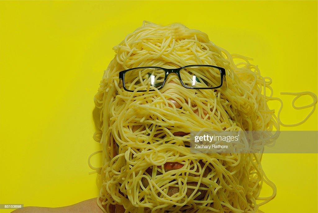 Pasta Disaster : Stock Photo