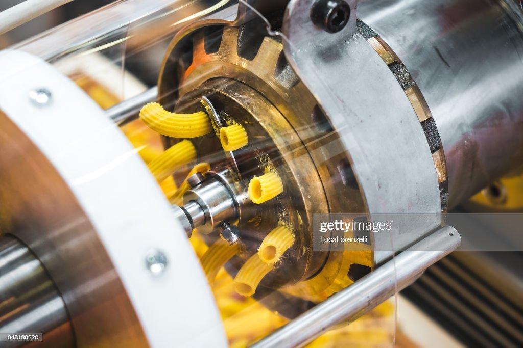 pasta machine dies brass factory industrial machine called Trafila used for Trafilatura al bronzo (Bronze drawing) : Stock Photo