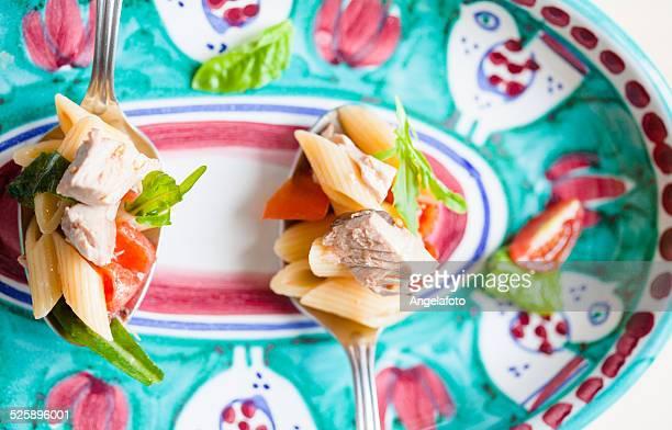 Pasta Salad and Tuna Fish