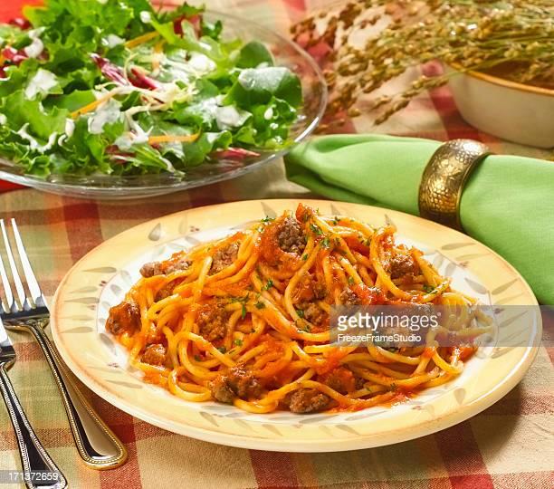 Pasta & salad dinner