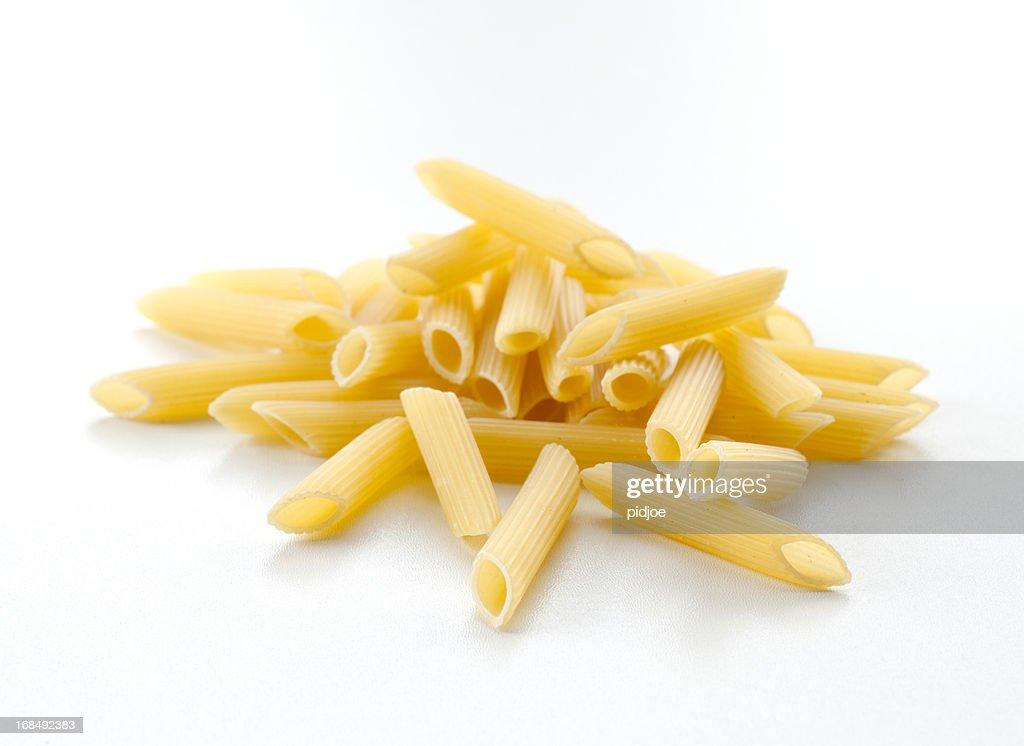 pasta tubes, Penne : Stock Photo