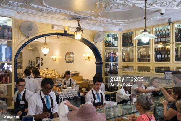 Pasteis de Belem Bakery serving Pastel de Nata Belem District Lisbon Portugal