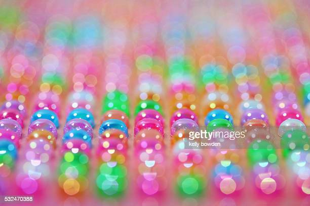 pastel beads abstract background texture