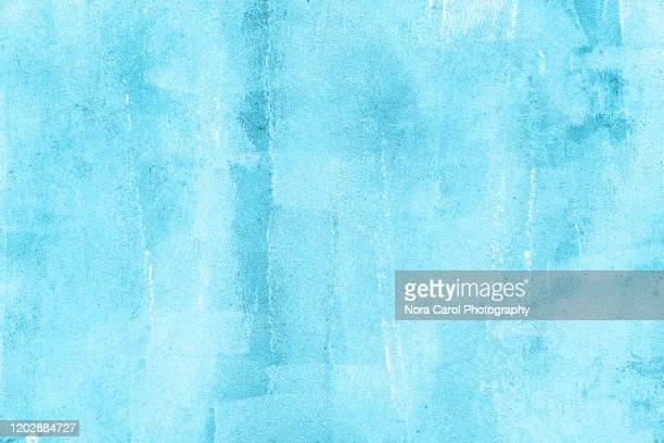 pastel blue turquoise background grunge texture - フルフレーム ストックフォトと画像