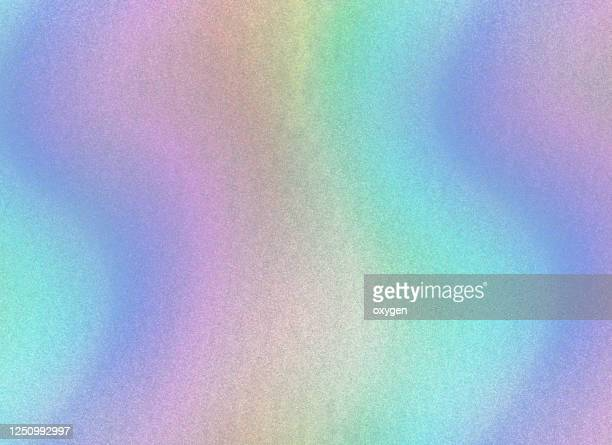 pastel colored holographic abstract peart glittered background - metal stock pictures, royalty-free photos & images