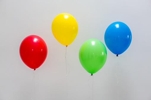 Pastel colors balloons - gettyimageskorea