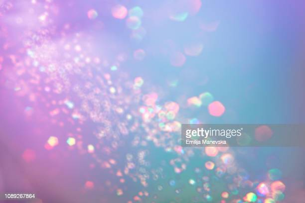 pastel multi color background - riflesso foto e immagini stock