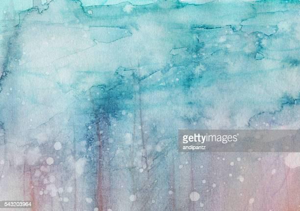 Des tons Pastel de couleur peint à la main avec texture jaspé