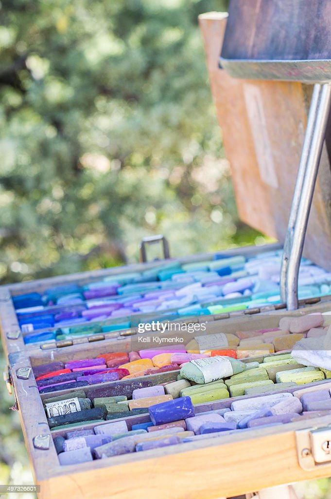Pastels : Stock Photo