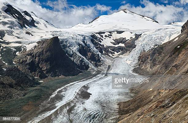 Pasterze Glacier, Grossglockner mountain, Austria