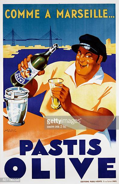 Pastis Olive Poster by Marc