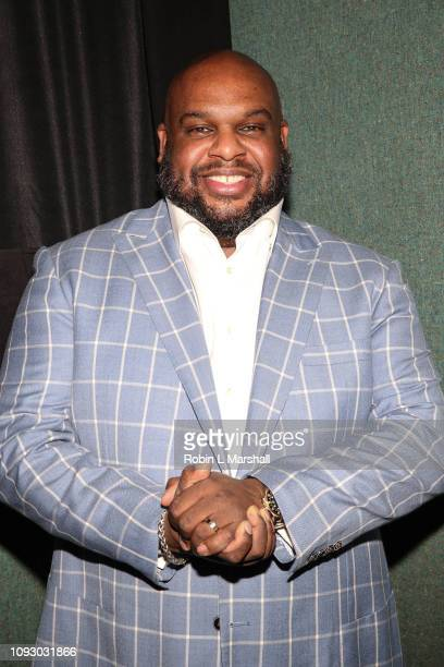 Pastor John Gray attends NAACP Image Awards special screening of OWN's 'The Book Of John Gray' at Raleigh Studios on January 11 2019 in Los Angeles...