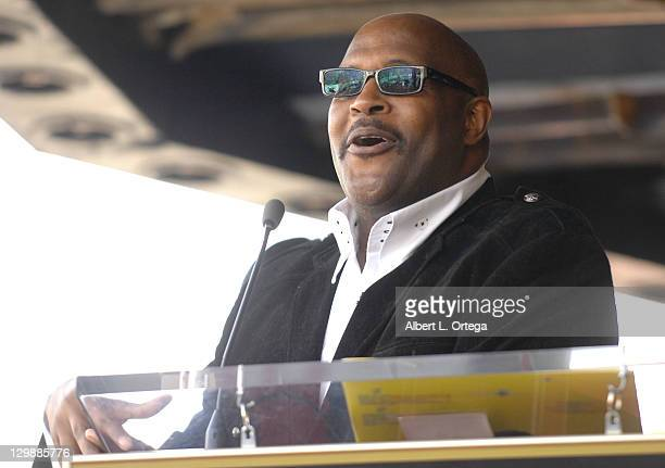 Pastor Marvin Winans attends the ceremony honoring BeBe Winans and CeCe Winans with a star on the Hollywood Walk of Fame on October 20 2011 in...