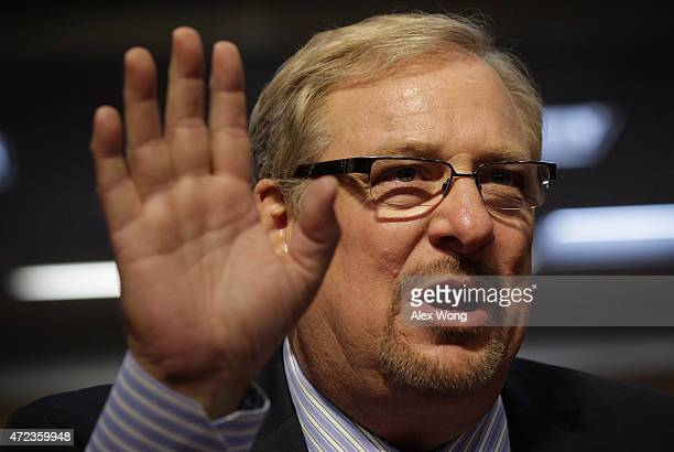 Pastor of the Saddleback Church Rick Warren speaks during a hearing before the State, Foreign Operations and Related Programs Subcommittee of the...
