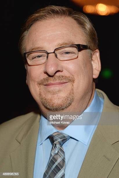 Pastor Rick Warren attends the Anti-Defamation League Entertainment Industry Dinner Honoring Roma Downey And Mark Burnett at The Beverly Hilton Hotel...