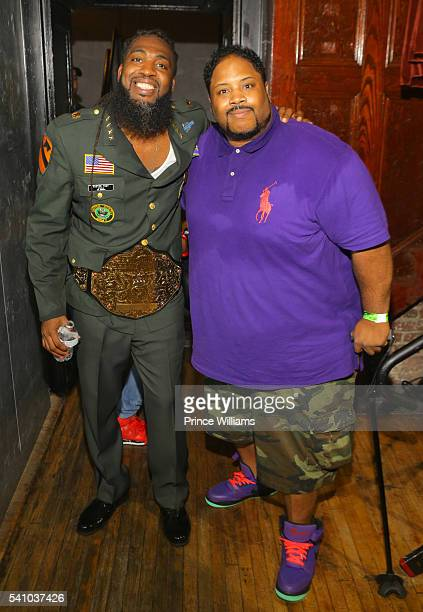 Pastor Troy and Bone Crusher attend the Birthday Bash ATL Classic Hip Hop Concert at The Tabernacle on June 17 2016 in Atlanta Georgia
