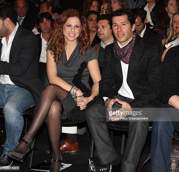 Pastora Soler and Francis Vinolo attend 'SIMOF 2011' The International Flamenco Fashion Week Fair at FIBES Palace of Congress and Exhibitions on...