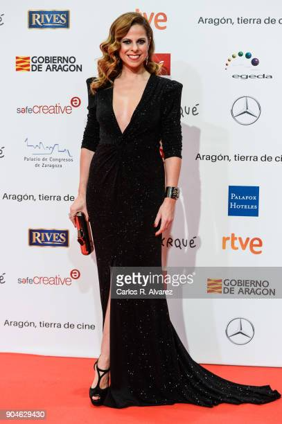 Pastora Soler attends the 23rd edition of Jose Maria Forque Awards at Palacio de Congresos on January 13 2018 in Zaragoza Spain