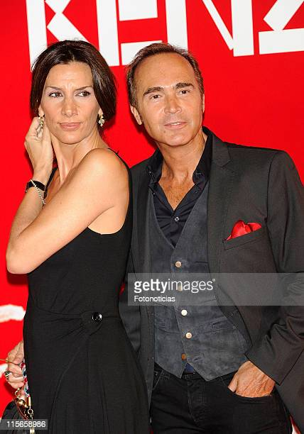 Pastora Vega and Juan Ribo attend Kenzo Summer Party at Chamartin Station on June 8 2011 in Madrid Spain