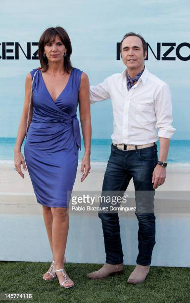 Pastora Vega and Juan Ribo attend Kenzo Summer Party at Green Canal Golf on June 5 2012 in Madrid Spain