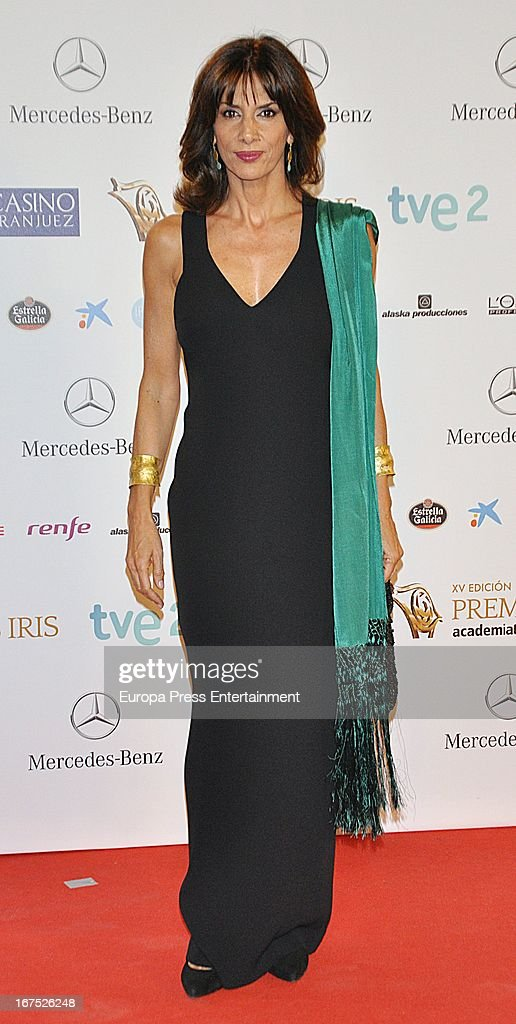 Pastora Vega attends Iris Awards 2013 on April 25, 2013 in Madrid, Spain.