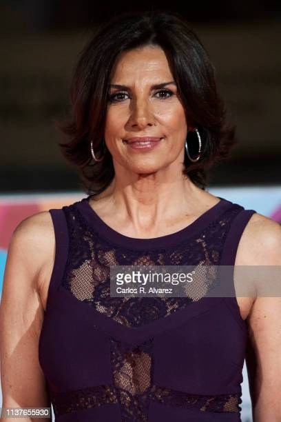 Pastora Vega attends 'Retrospectiva' award ceremony during the 22th Malaga Film Festival on March 22 2019 in Malaga Spain