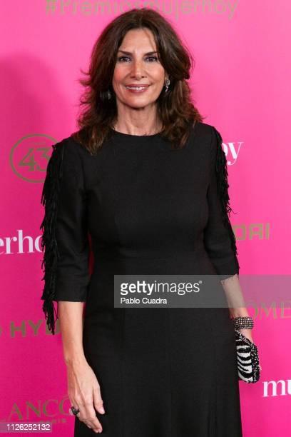 Pastora Vega attends the 10th 'MujerHoy' awards at 'Casino de Madrid' on January 30 2019 in Madrid Spain